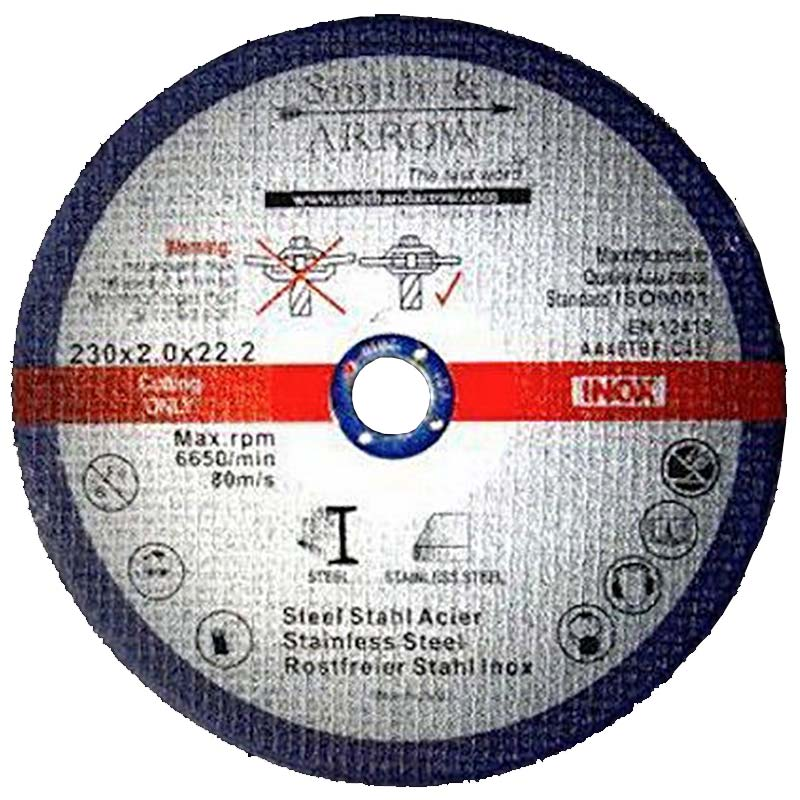 Pack of 10 Angle Grinder Blades//Discs for Steel 230mm x 3mm 391230